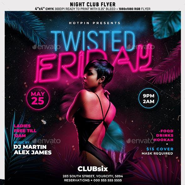Night Club Flyer Template