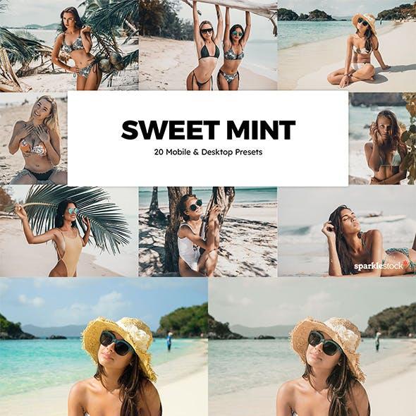 20 Sweet Mint Lightroom Presets & LUTs