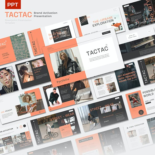 TACTAC - Brand Activation Presentation Powerpoint Template