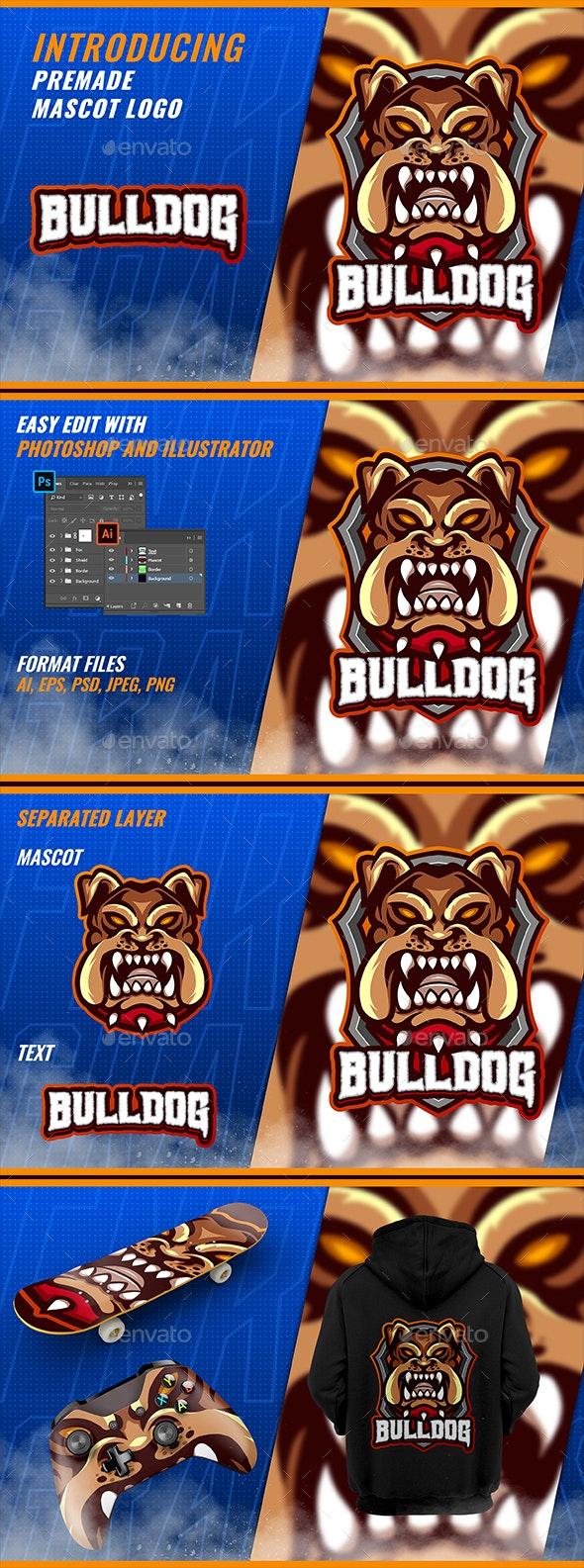 French Bulldog - Mascot Esport Logo - Animals Logo Templates