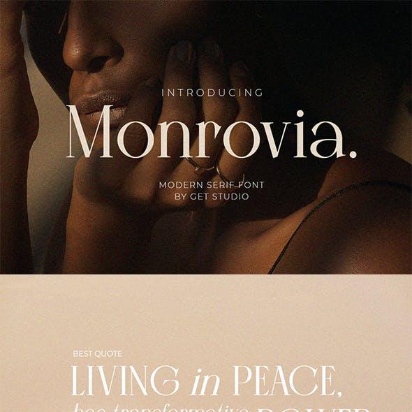 Monrovia - Modern Serif Font