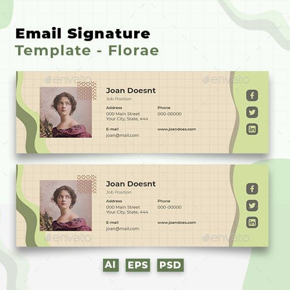 Email Signature: Florae