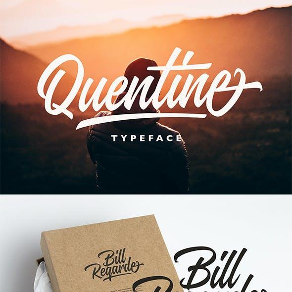 Quentine Typeface