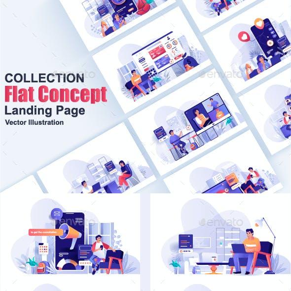 Modern Flat Concept Pack