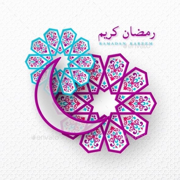 Ramadan Kareem Holiday Background - Seasons/Holidays Conceptual