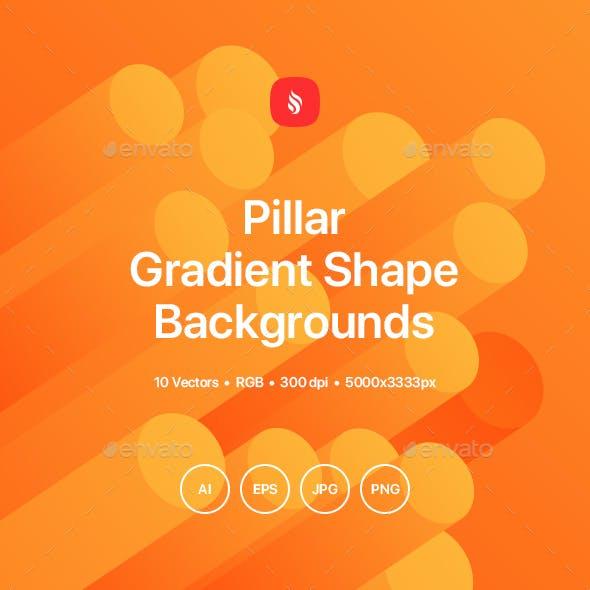 Pillar - Gradient Motion Shape Backgrounds