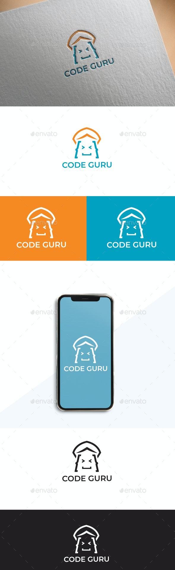 Code guru - Vector Abstract