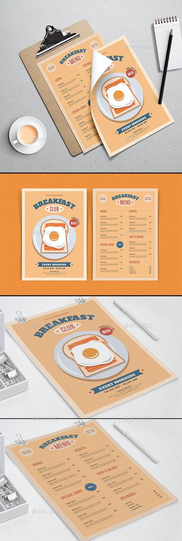 Breakfast Club Flyer Template - Events Flyers
