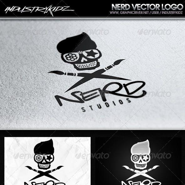 Nerd Logo Template