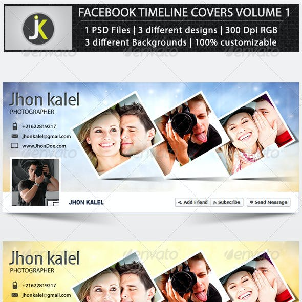 Facebook Timeline Covers Volume 1