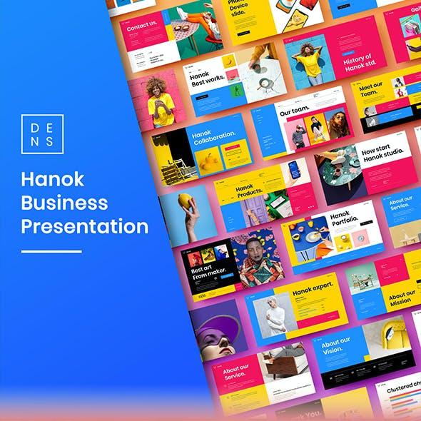 Hanok – Business PowerPoint Template
