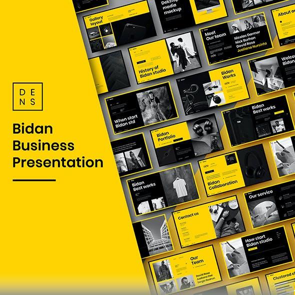 Bidan – Business PowerPoint Template