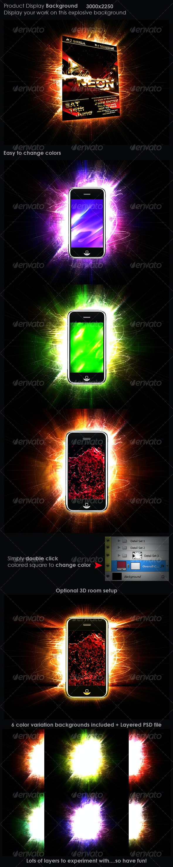 Product Display Background 1 - Backgrounds Graphics
