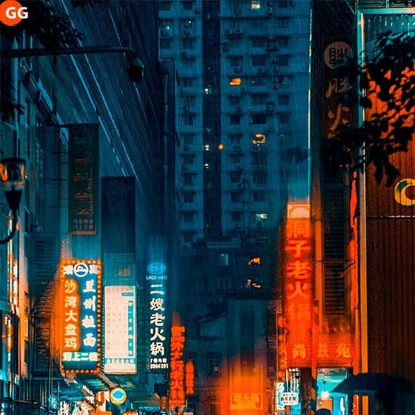 20 City Night Lightroom Presets