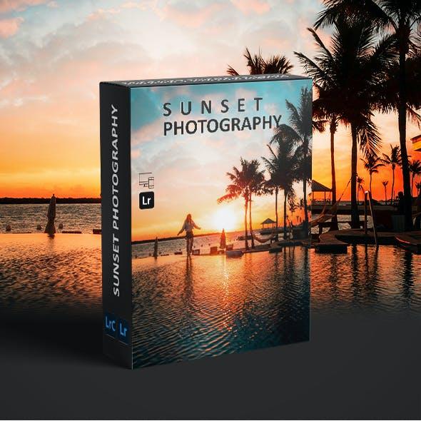 10 Pro Sunset Photography - Lightroom Presets