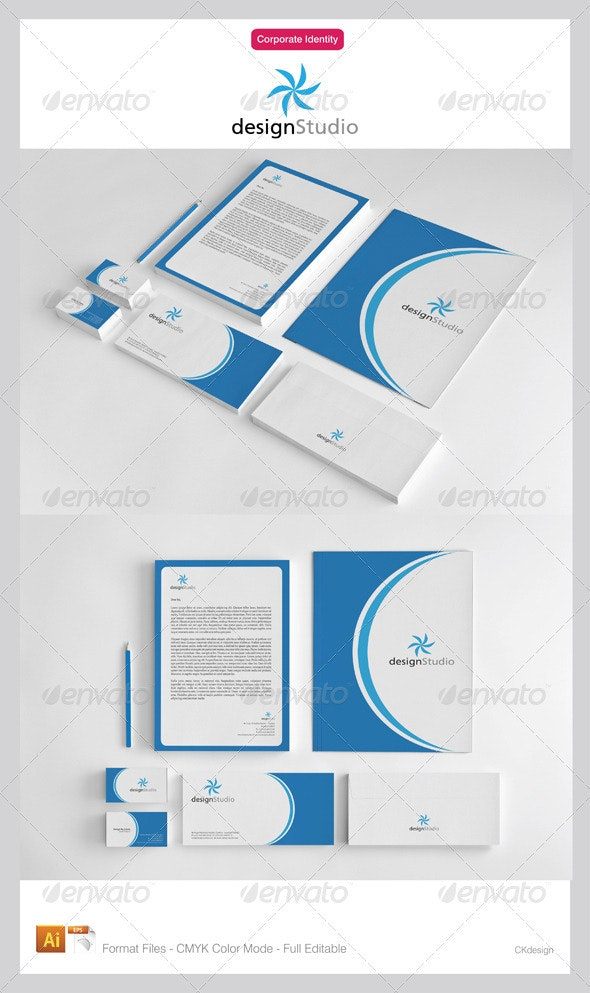 Designstudio Corporate Identity - Corporate Business Cards