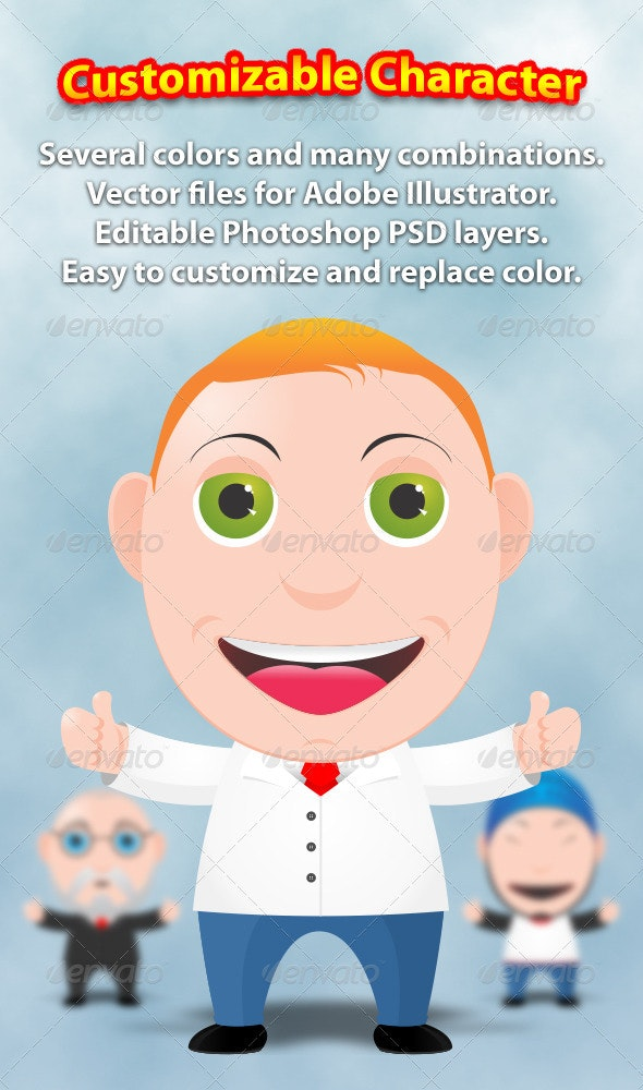 Super Toon Character Creation Kit - People Characters