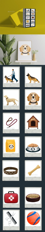 Dog Flat Icons - Miscellaneous Vectors