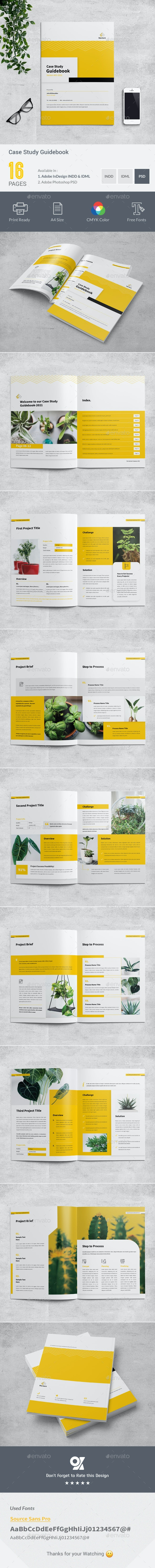 Case Study Guidebook - Informational Brochures