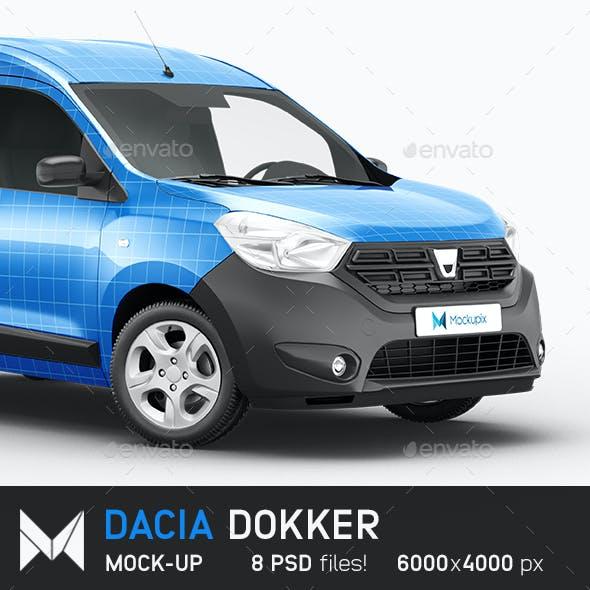Dacia Dokker Mockup