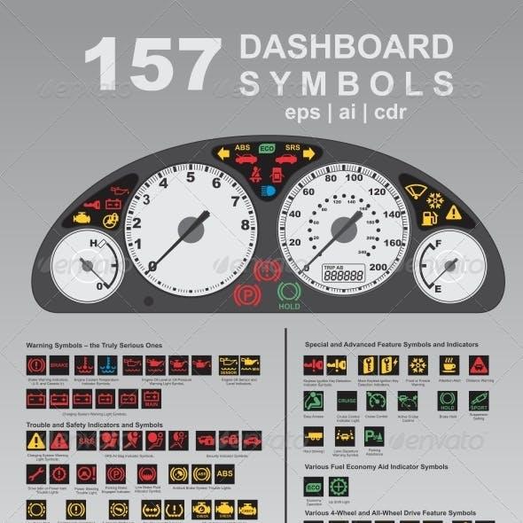 157 Dashboard Symbols