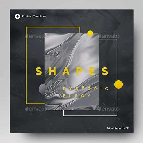 Shapes – Music Album Cover Artwork Template