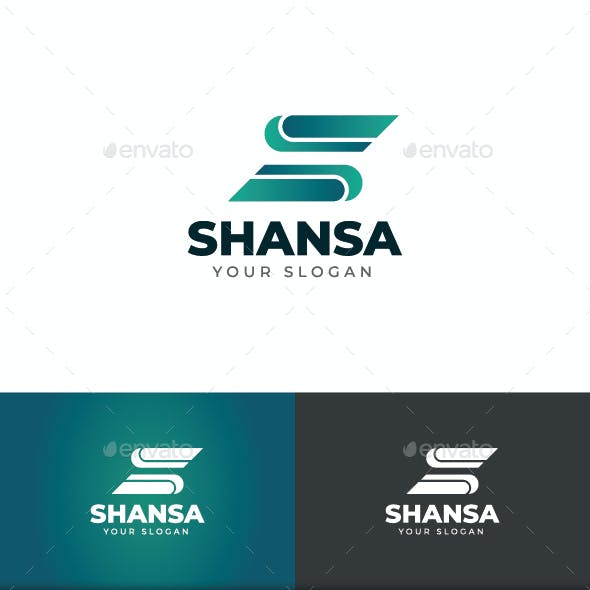 Shansa S Letter Logo