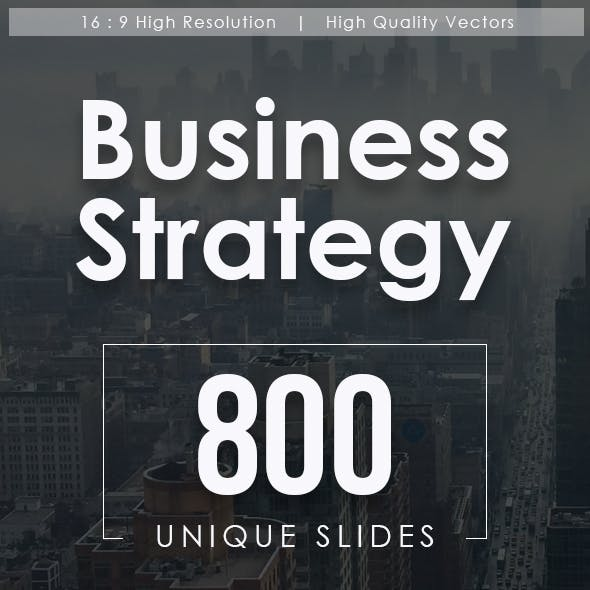 Business Strategy Powerpoint Templates Bundle
