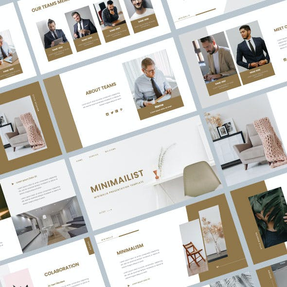 MINIMAILIST – Business Keynote Template