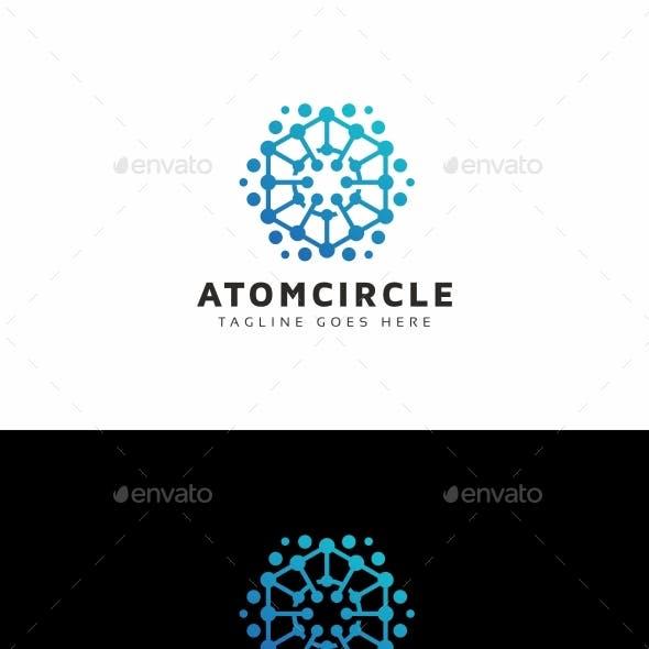 Atom Circle Logo