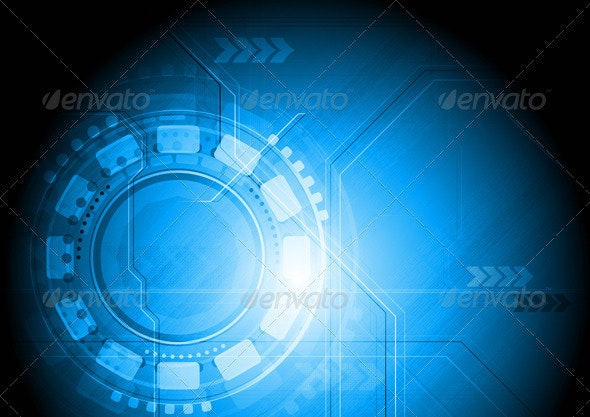 Colourful technical design - Backgrounds Decorative