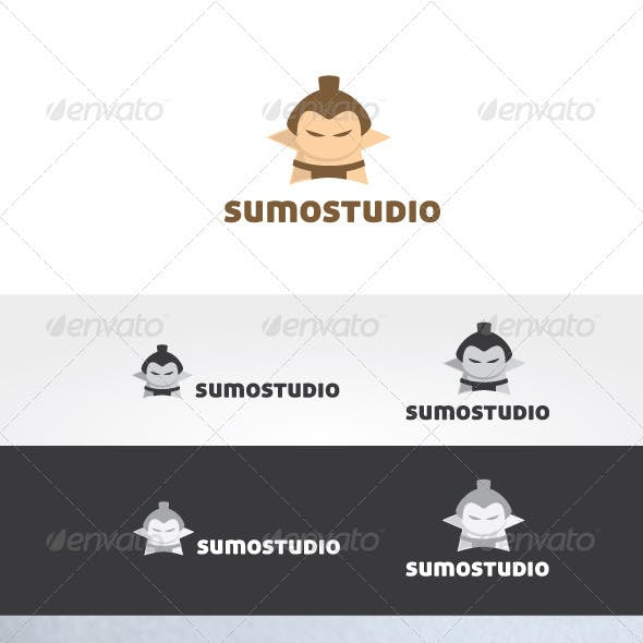 Sumo Studio Logo Template