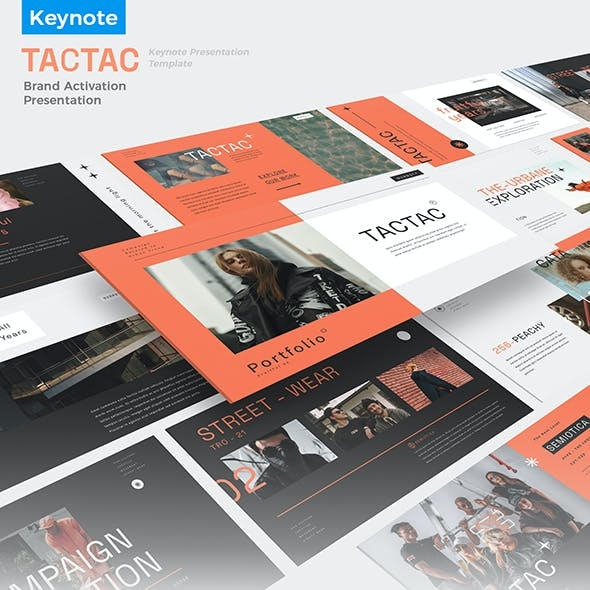 TACTAC - Brand Activation Presentation Keynote Template