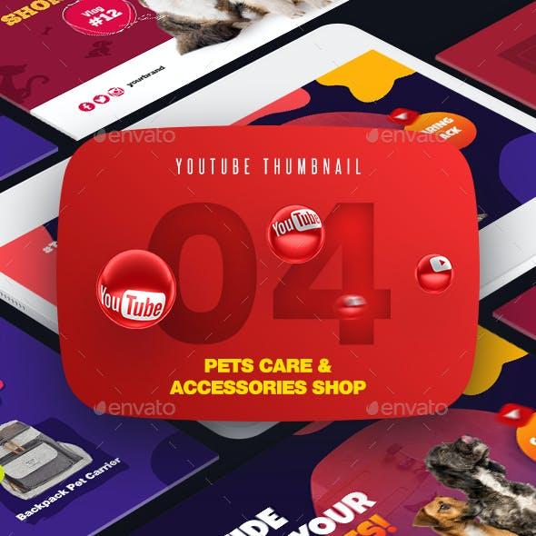 Pets Shop and Care YouTube Video Thumbnail Screenshot