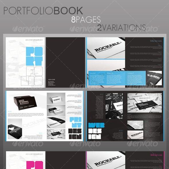 Portfolio Book (8 pages)