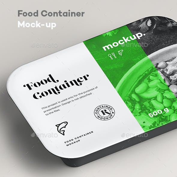 Food Container Mock-up