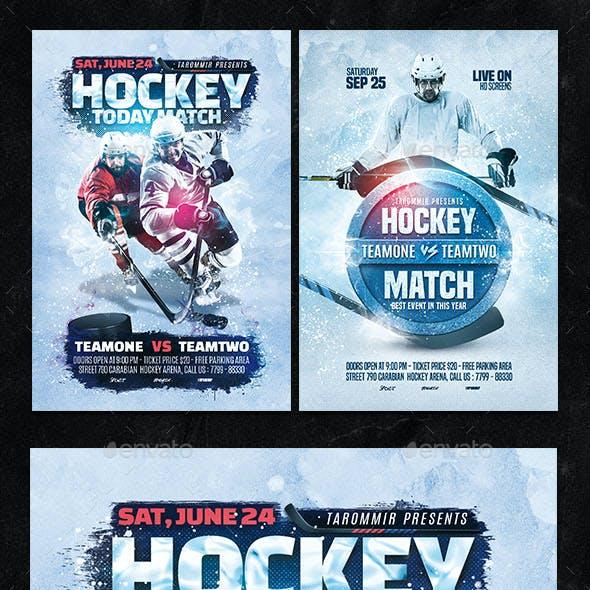 Hockey Flyer Bundle Vol 1