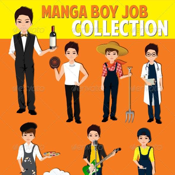 Manga Boy Job Collection