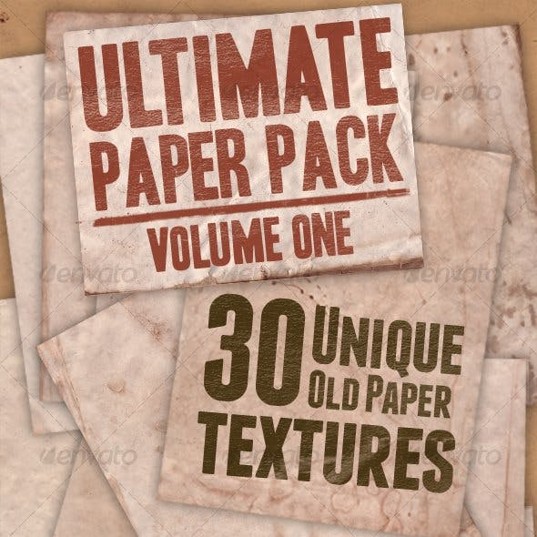 Ultimate Paper Pack: Version One