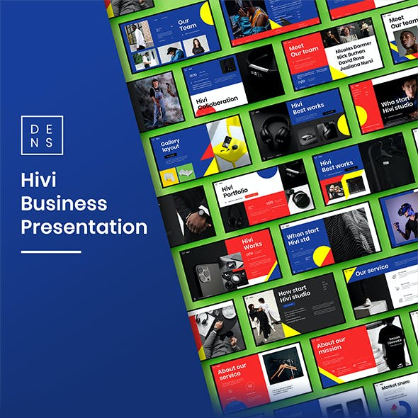 Hivi – Business PowerPoint Template