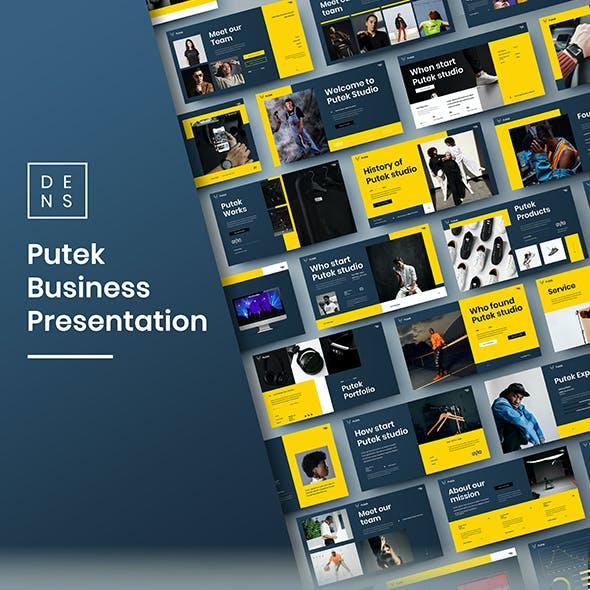 Putek – Business PowerPoint Template