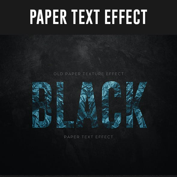 Old Paper Text Effect