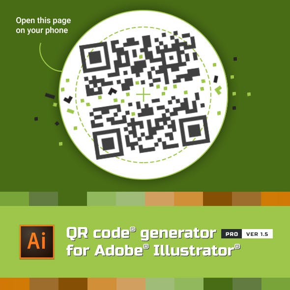 QR Code Generator for Illustrator