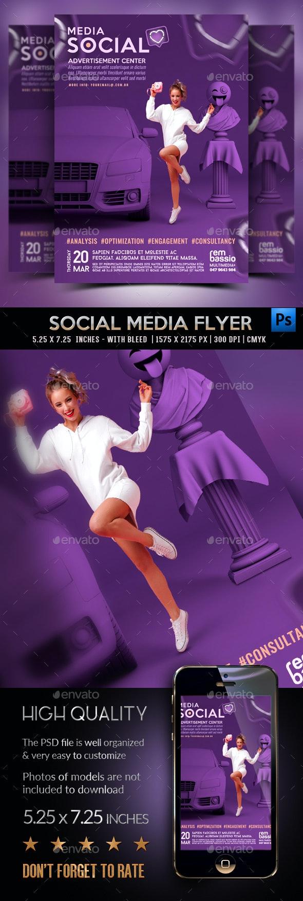 Social Flyer - Corporate Flyers