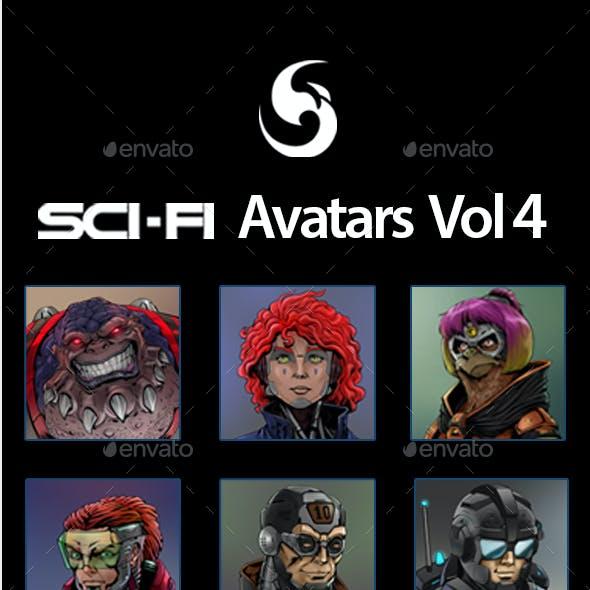 SciFi Characters Avatar Vol.4