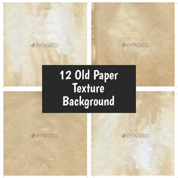 12 Old Paper Texture Backgrounds