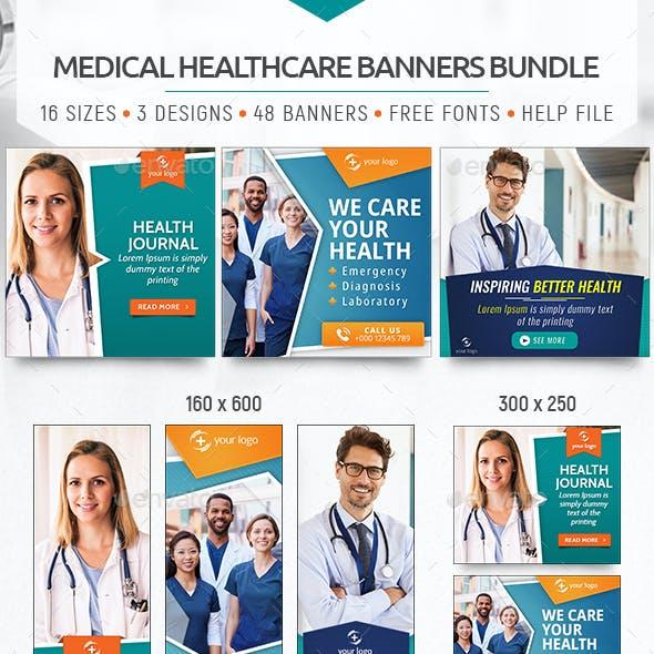 Medical Healthcare Banners Bundle