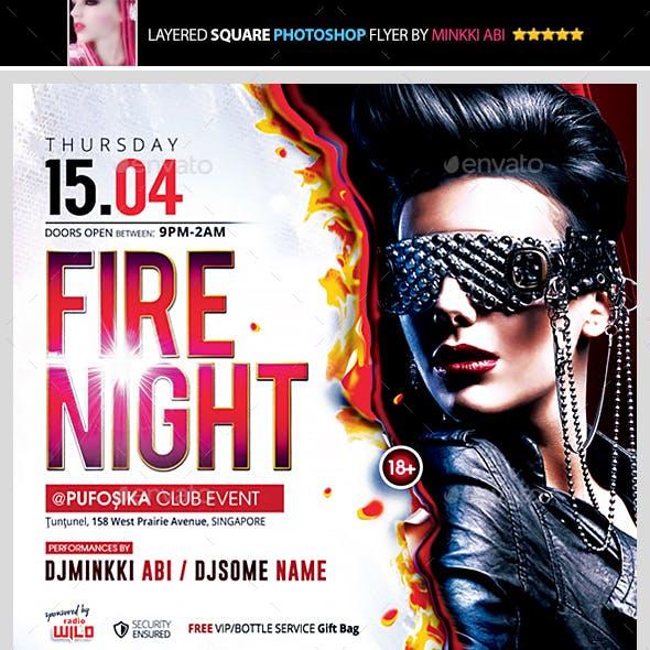 Fire Night Flyer