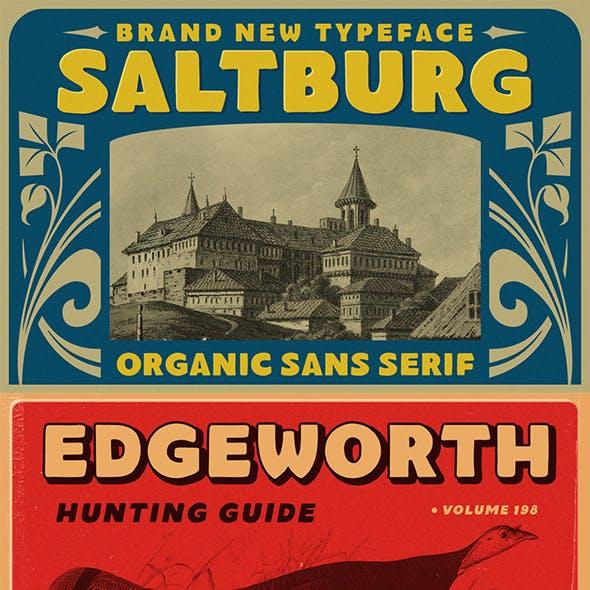 Saltburg - Organic Sans Serif