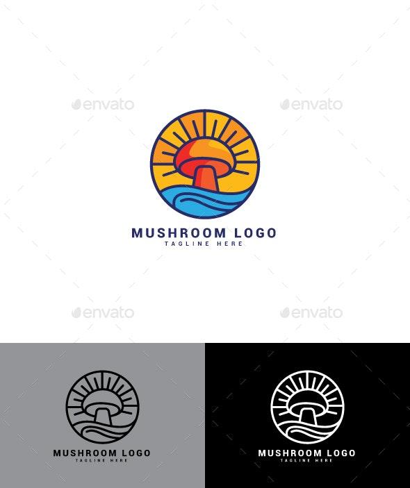 Mushroom Logo - Nature Logo Templates
